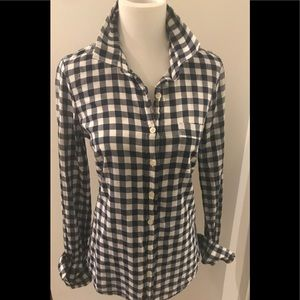 J.Crew Factory Perfect Shirt, Gingham